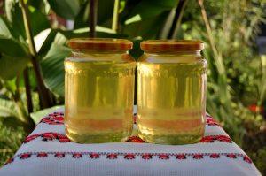 Sortimente de miere produse în Stupina Grecu - miere de salcam
