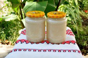 Sortimente de miere produse în Stupina Grecu - miere de rapita